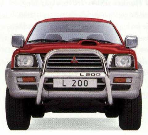 Mitsubishi L200, kufanger TROPHY edelstål